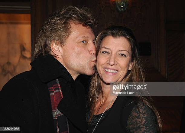 "Musician Jon Bon Jovi and his wife Dorothea Hurley attend The Cinema Society With Chrysler & Bally Host The Premiere Of ""Stand Up Guys"" After Party..."