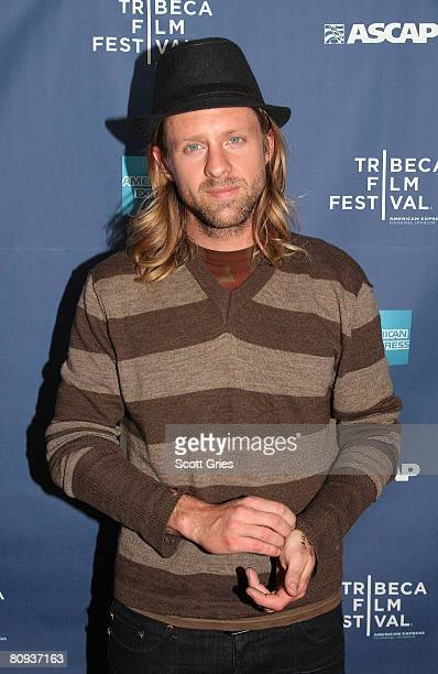 Musician Jon Foreman attends the Tribeca ASCAP Music Lounge during the 2008 Tribeca Film Festival on April 30 2008 in New York City