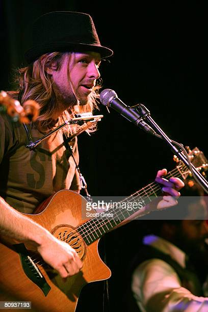 Musician Jon Foreman performs during the Tribeca ASCAP Music Lounge during the 2008 Tribeca Film Festival on April 30, 2008 in New York City.