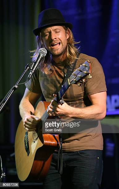 Musician Jon Foreman performs during the Tribeca ASCAP Music Lounge during the 2008 Tribeca Film Festival on April 30 2008 in New York City