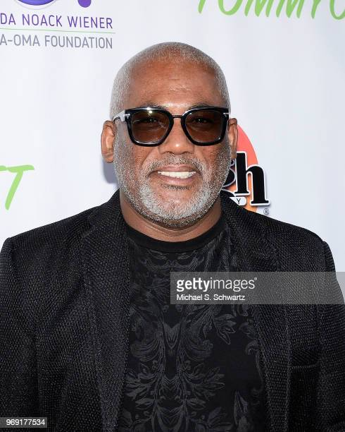 Musician Jonathan Butler attends the SarcomaOma Foundation Comedy Benefit at The Laugh Factory on June 6 2018 in West Hollywood California