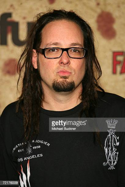 Musician Jonathan Davis attends the fuse Fangoria Chainsaw Awards at the Orpheum Theater on October 15 2006 in Los Angeles California The awards will...