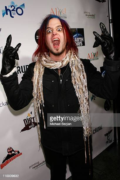 Musician Jonathan Montoya of Saliva at The Green Lodge and Skype host the Big River Man Premiere Party on January 16 2009 in Park City Utah