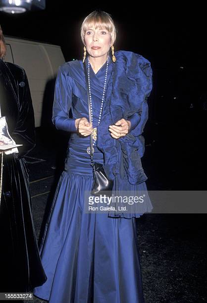Musician Joni Mitchell attends the 21st Annual NAACP Image Awards on December 10 1988 at Wiltern Theatre in Los Angeles California