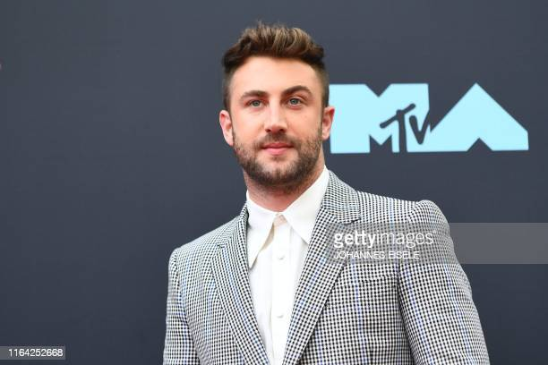 US musician Jordan McGraw arrives for the 2019 MTV Video Music Awards at the Prudential Center in Newark New Jersey on August 26 2019