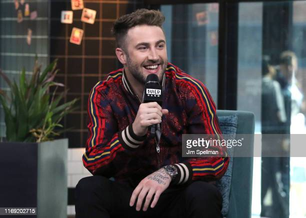 Musician Jordan McGraw attends the Build Series to discuss Met at a Party at Build Studio on August 20 2019 in New York City