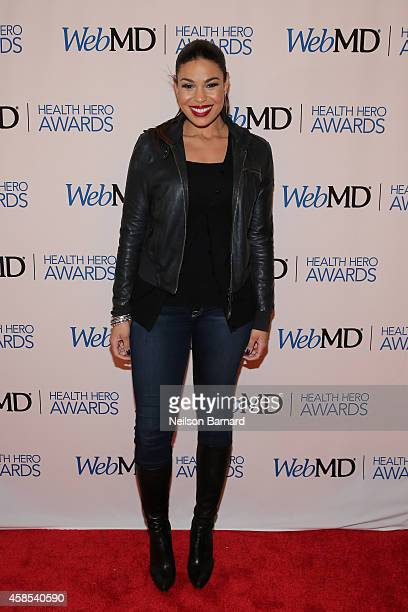 Musician Jordin Sparks attends the 2014 Health Hero Awards hosted by WebMD at Times Center on November 6 2014 in New York City