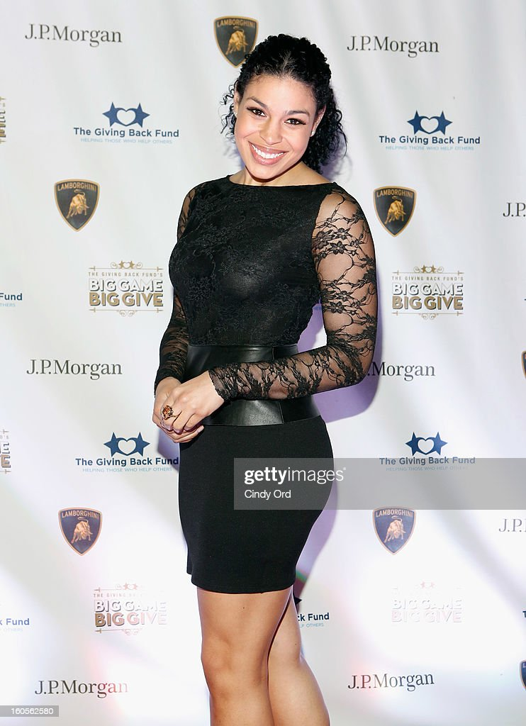 Musician Jordin Sparks attends The Giving Back Fund's 4th Annual Big Game Big Give Super Bowl Celebration on February 2, 2013 in New Orleans, Louisiana.