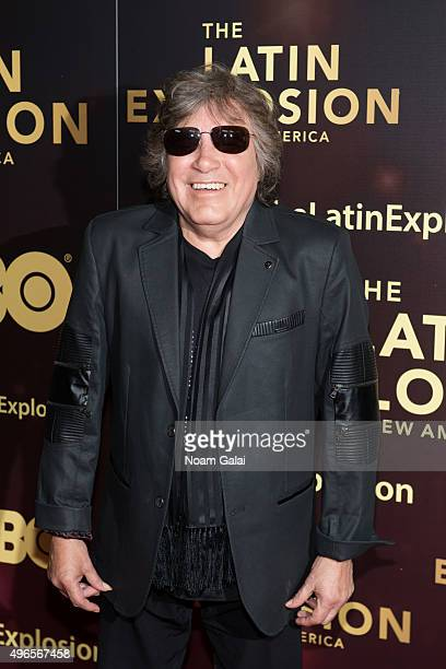 Musician Jose Feliciano attends The Latin Explosion A New America New York premiere at Hudson Theatre on November 10 2015 in New York City