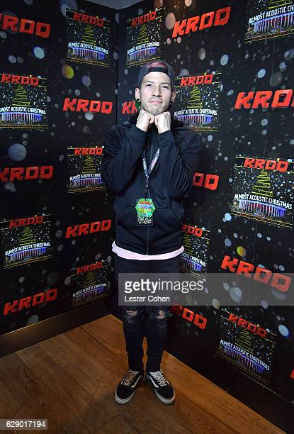 Musician Josh Dun of the band 21 Pilots attends 1067 KROQ Almost Acoustic Christmas 2016 Night 1 at The Forum on December 10 2016 in Inglewood...