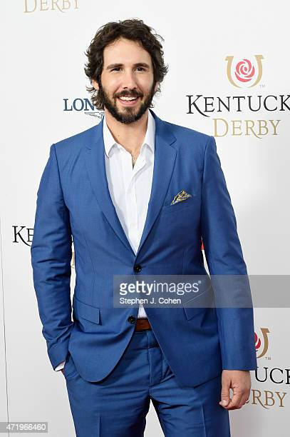 Musician Josh Groban attends the 141st Kentucky Derby at Churchill Downs on May 2 2015 in Louisville Kentucky