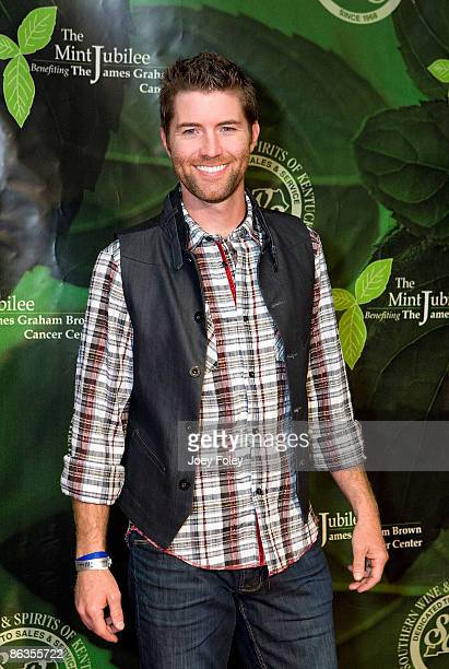 Musician Josh Turner attends the 2009 Mint Jubilee Derby Eve Gala at the Galt House Hotel Suites on May 1 2009 in Louisville Kentucky