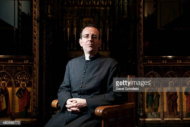 Musician, journalist and Church of England priest Richard Coles is photographed for the Independent on December 10, 2009 in Peterborough, England.
