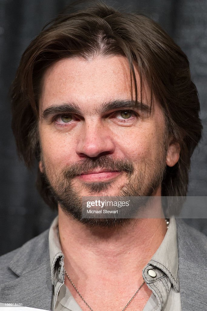 Musician Juanes attends the Hurricane Sandy Benefit concert at the Barclays Center on November 24, 2012 in the Brooklyn borough of New York City.