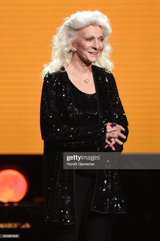 Musician Judy Collins onstage during at the Premiere Ceremony during The 59th GRAMMY Awards at Microsoft Theater on February 12, 2017 in Los Angeles, California.
