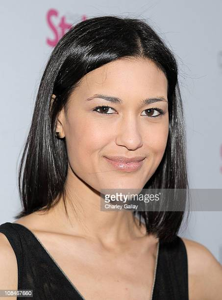 Musician Julia Jones arrives to 'A Night Of Red Carpet Style' hosted by People StyleWatch at Decades on January 27, 2011 in Los Angeles, California.