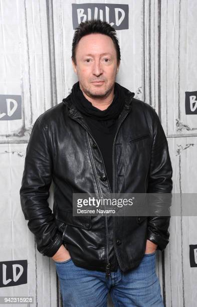 Musician Julian Lennon visits Build Series to discuss the book 'Heal The Earth' at Build Studio on April 5 2018 in New York City