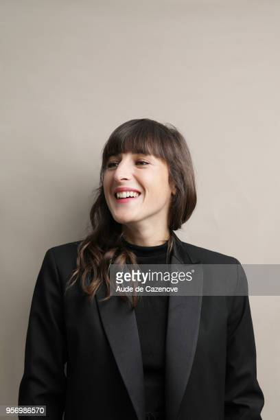 Musician Juliette Armanet is photographed for Gala Croisette on May 2018 in Cannes France