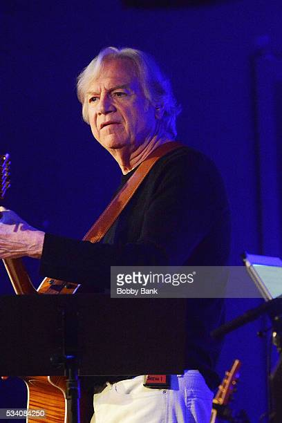 Musician Justin Hayward of The Moody Blues performs at City Winery on May 24 2016 in New York City