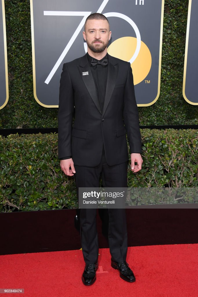 Musician Justin Timberlake attends The 75th Annual Golden Globe Awards at The Beverly Hilton Hotel on January 7, 2018 in Beverly Hills, California.