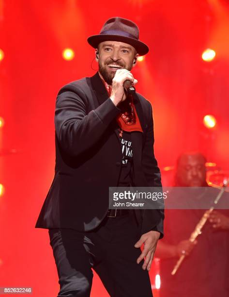 Musician Justin Timberlake performs at the 2017 Pilgrimage Music Cultural Festival on September 23 2017 in Franklin Tennessee