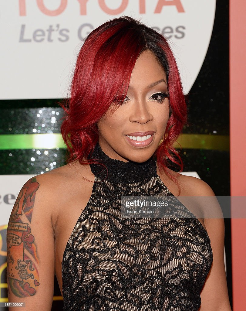Musician K. Michelle attends the Soul Train Awards 2013 at the Orleans Arena on November 8, 2013 in Las Vegas, Nevada.