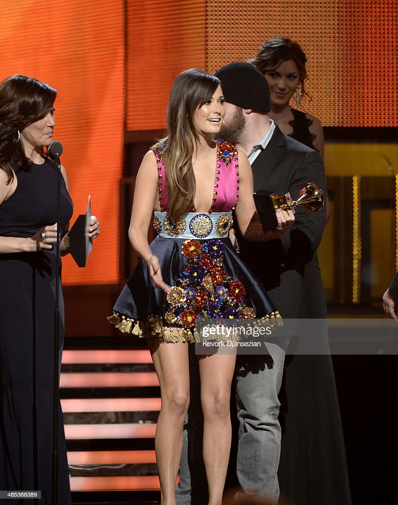 Musician Kacey Musgraves Accepts The Best Country Album Award For News Photo Getty Images