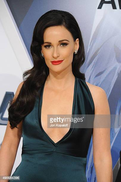 Musician Kasey Musgraves attends the 49th annual CMA Awards at the Bridgestone Arena on November 4 2015 in Nashville Tennessee