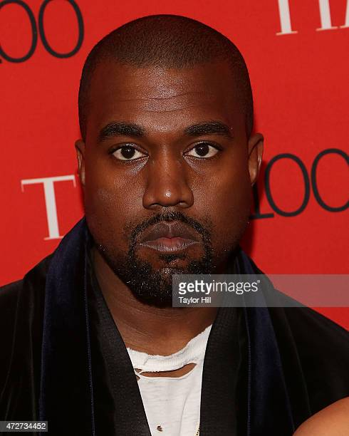 Musician Kanye West attends the 2015 Time 100 Gala at Frederick P Rose Hall Jazz at Lincoln Center on April 21 2015 in New York City