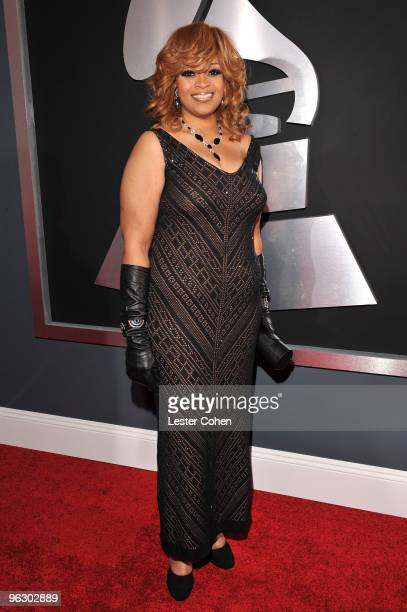Musician Karen Clark Sheard arrives at the 52nd Annual GRAMMY Awards held at Staples Center on January 31 2010 in Los Angeles California