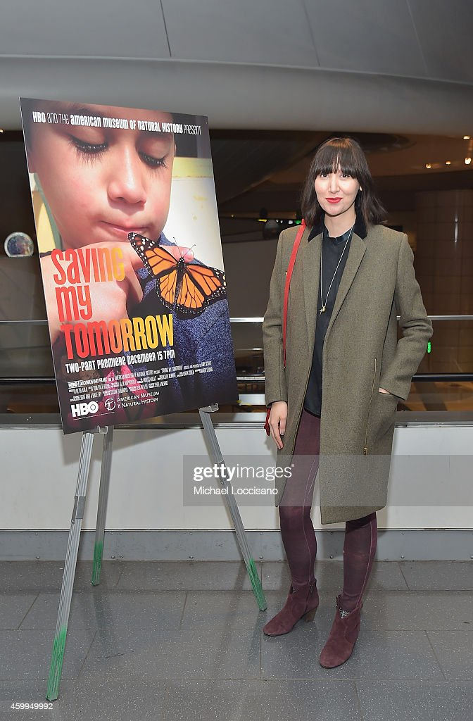 "HBO & American Museum Of Natural History NY Premiere Of ""Saving My Tomorrow"""