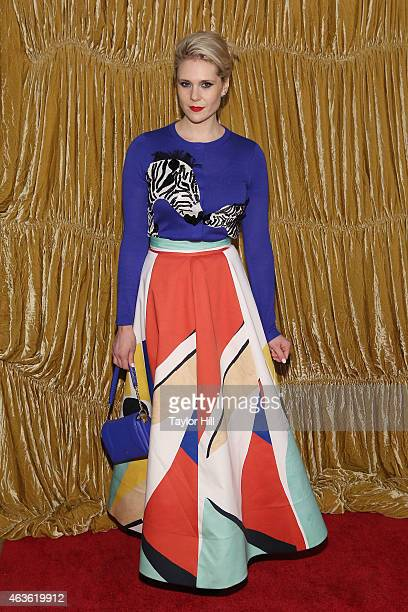 Musician Kate Nash attends the Alice Olivia fall 2015 fashion presentation during Fall 2015 Mercedes Benz Fashion Week at The Prince George Ballroom...