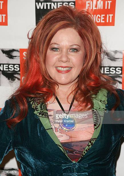 Musician Kate Pierson attends the second annual gala dinner and concert to benefit Witness which helps promote human rights causes worldwide December...