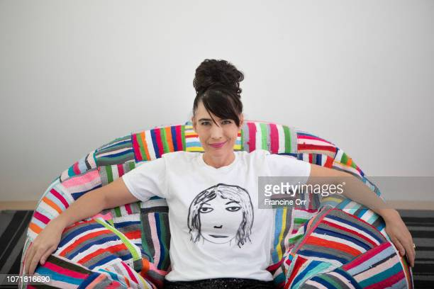 Musician Kathleen Hanna is photographed for Los Angeles Times on October 30 2018 in Pasadena California PUBLISHED IMAGE CREDIT MUST READ Francine...
