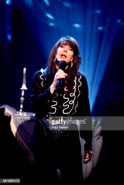 Musician Kathy Mattea performs onstage Nashville Tennessee March 5 1995