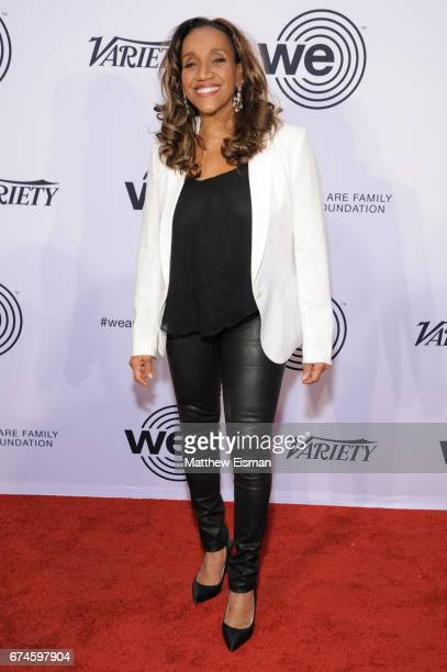 Musician Kathy Sledge of the band Sister Sledge attends the We Are Family Foundation 2017 Celebration Gala at Hammerstein Ballroom on April 28 2017...