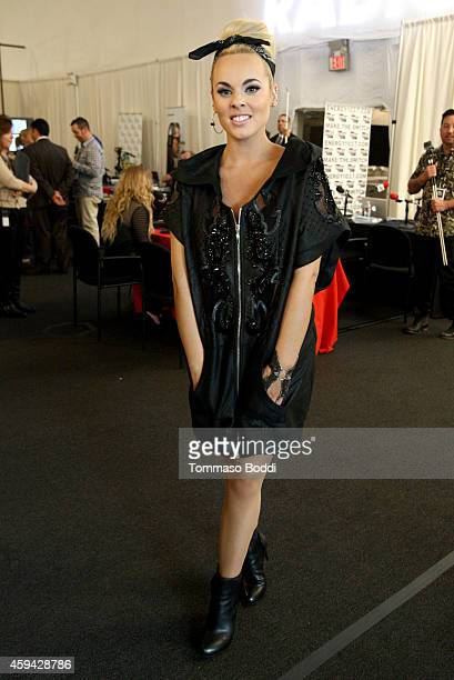 Musician Katie Piz attends Red Carpet Radio presented by Westwood One at Nokia Theatre LA Live on November 22 2014 in Los Angeles California