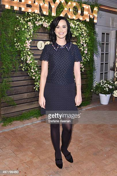 Musician Katy Perry attends Barneys New York Jennifer Aniston and Tobey Maguire host a private dinner to celebrate The Barneys New York XO Jennifer...