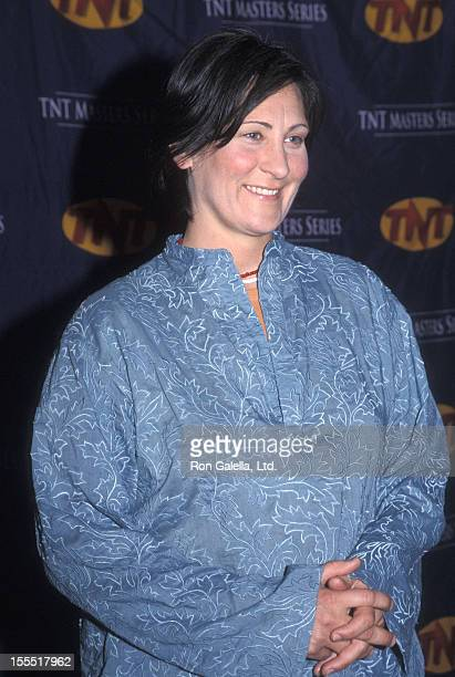 Musician kd lang attends the TNT's Master Series Television Concert Special An AllStar Tribute to Joni Mitchell on April 6 2000 at Hammerstein...
