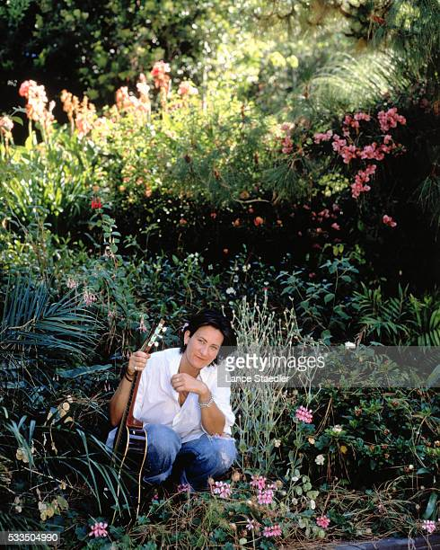 Musician kd lang is photographed for Rolling Stone in 1994 in Los Angeles California