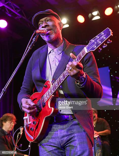 Musician Keb' Mo' performs onstage during the 2017 NAMM Show at the Anaheim Convention Center on January 20, 2017 in Anaheim, California.