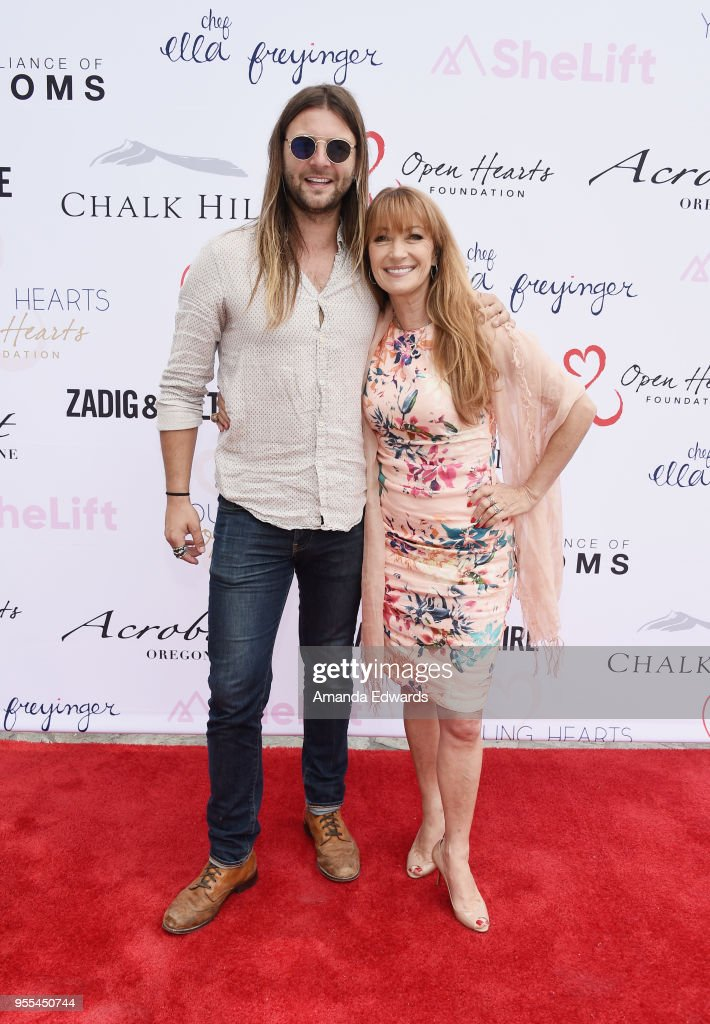 Musician Keith Harkin and actress Jane Seymour attend The ...