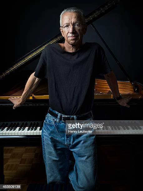 Musician Keith Jarrett is photographed for DownBeat Magazine on June 13 in New York City.