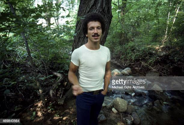 Musician Keith Jarrett poses for a portrait session in August 1975 in Los Angeles, California.