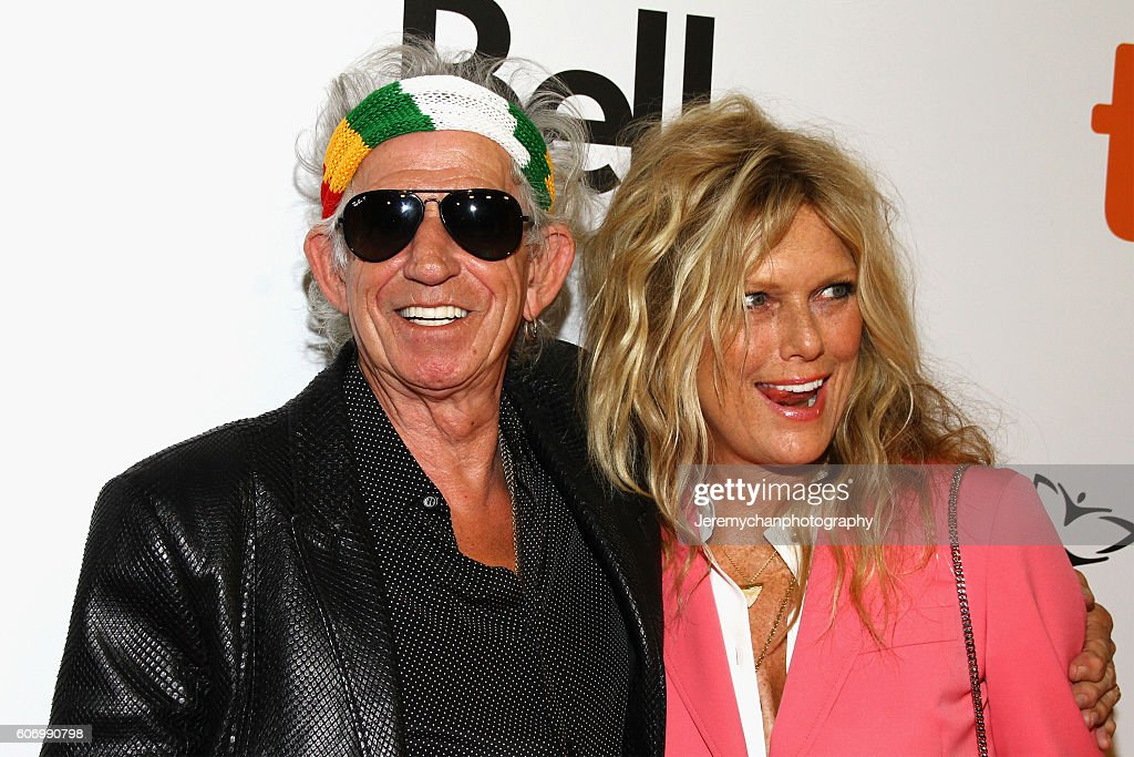 Musician Keith Richards and Patti Hansen attend the 'The Rolling Stones Ole Ole Ole!: A Trip Across Latin America' premiere held at Roy Thomson Hall during the Toronto International Film Festival on September 16, 2016 in Toronto, Canada.