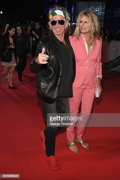 Musician Keith Richards and wife Patti Richards attend 'The Roling Stones Ole Ole Ole A Trip Across Latin America' Premiere during the 2016 Toronto...