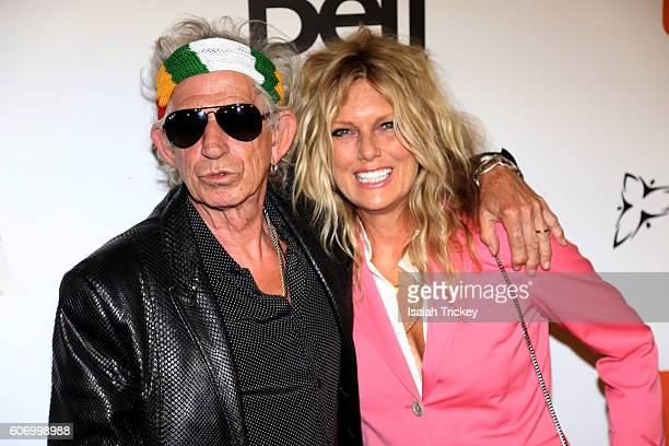 Musician Keith Richards and wife Patti Richards attend 'The Rolling Stones Ole Ole Ole A Trip Across Latin America' Premiere during the 2016 Toronto...