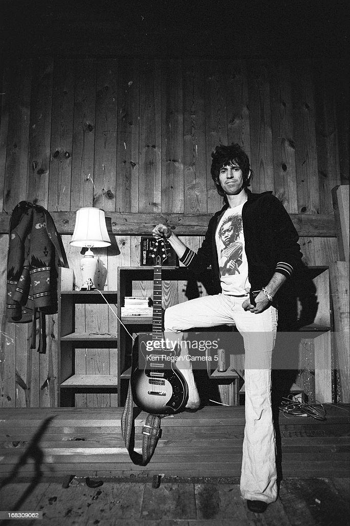 Keith Richards, Ken Regan Archive, 1977