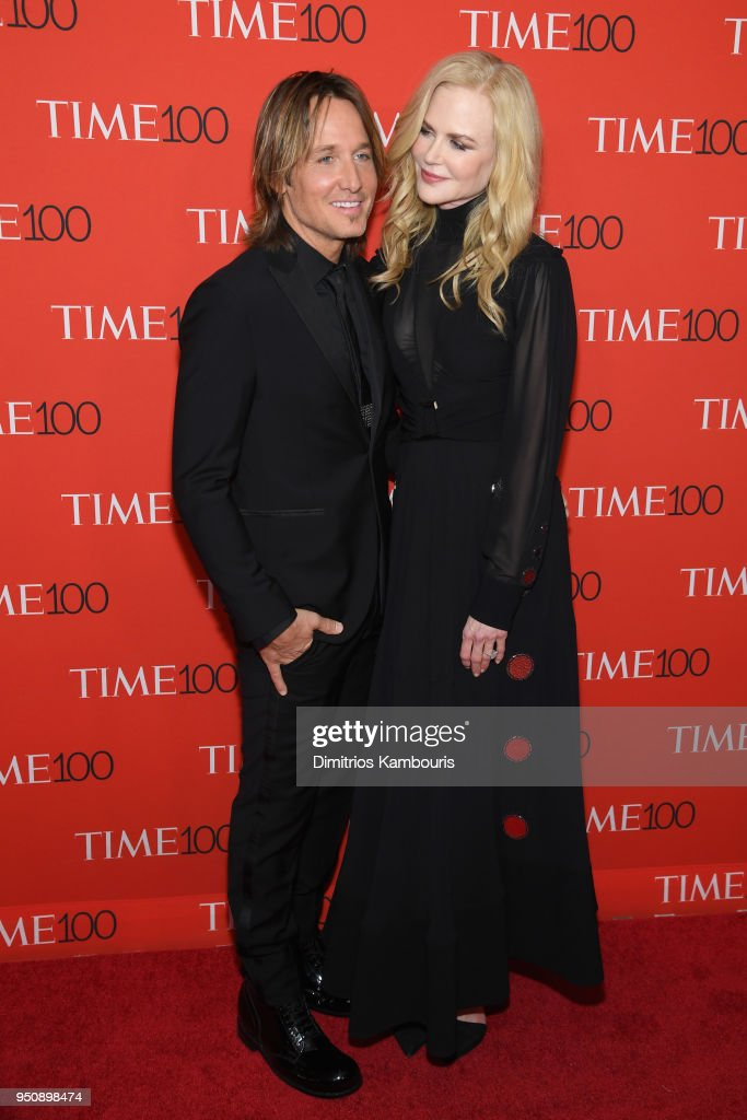 Musician Keith Urban and actor Nicole Kidman attend the 2018 Time 100 Gala at Jazz at Lincoln Center on April 24, 2018 in New York City.