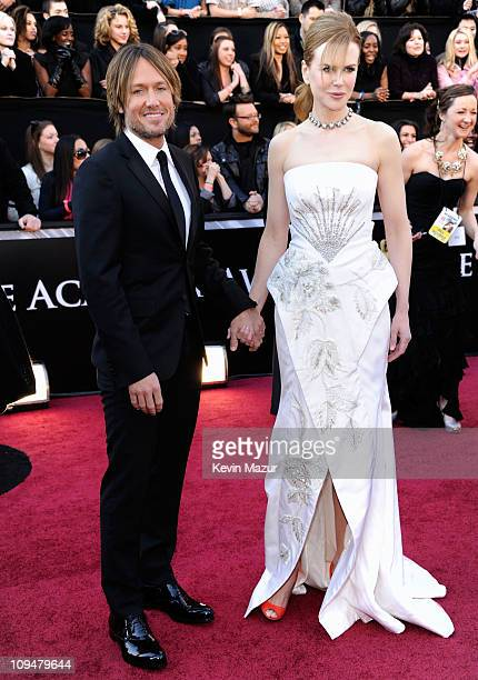 Musician Keith Urban and actress Nicole Kidman arrive at the 83rd Annual Academy Awards held at the Kodak Theatre on February 27 2011 in Hollywood...